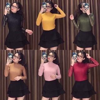 Áo len mỏng nữ hàng quảng châu mới nhất 2018 Hàng Xịn