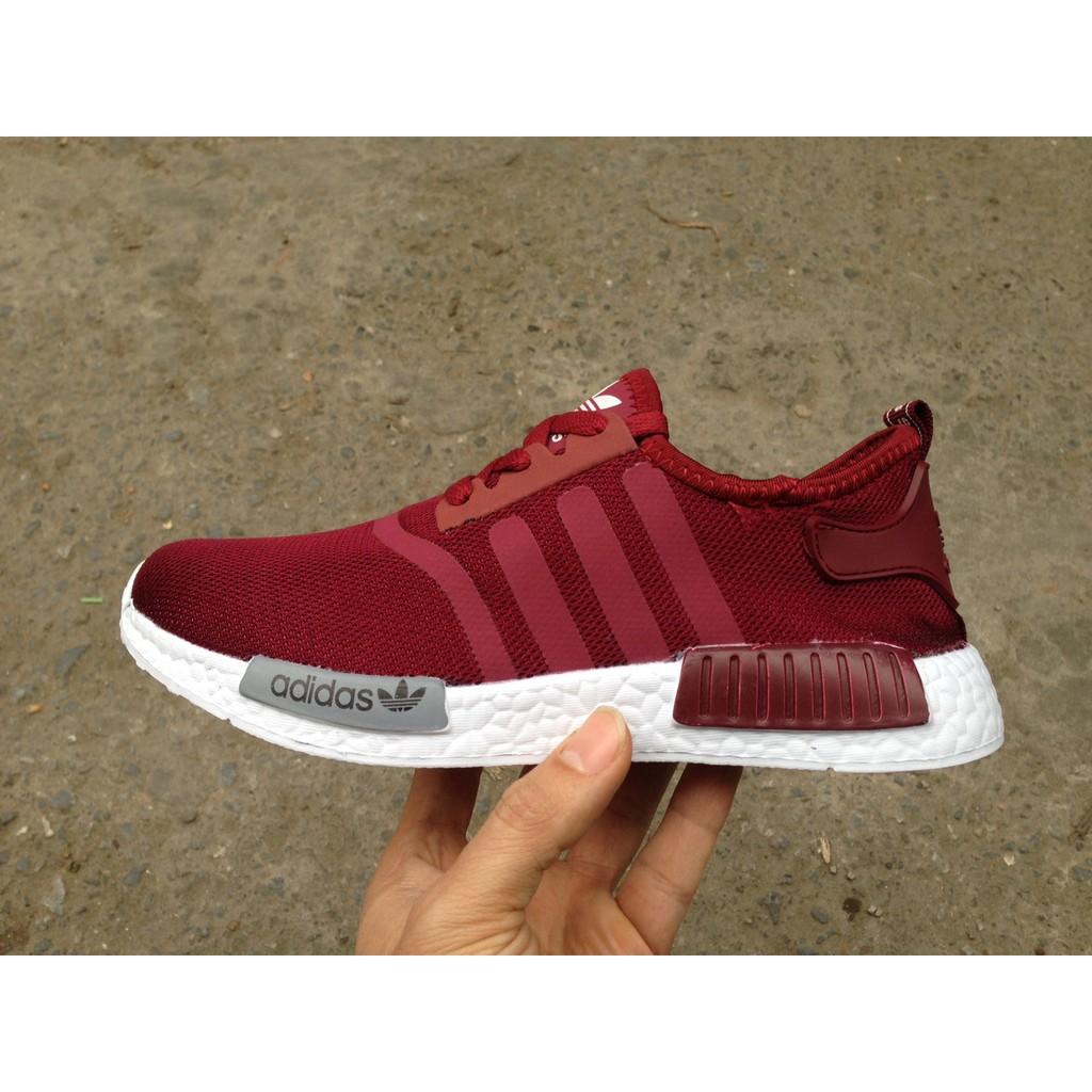 FREE SHIP + FULL BOX] Giày Adidas NMD R1 màu Đỏ đô đỏ mận - 2620522 , 852577763 , 322_852577763 , 210000 , FREE-SHIP-FULL-BOX-Giay-Adidas-NMD-R1-mau-Do-do-do-man-322_852577763 , shopee.vn , FREE SHIP + FULL BOX] Giày Adidas NMD R1 màu Đỏ đô đỏ mận