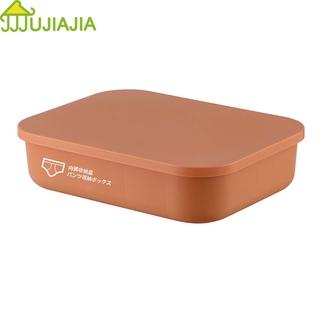 Hộp đựng đồ lót JUJIAJIA chất liệu PP 10 15 ô chứa có nắp đậy tiện dụng thumbnail