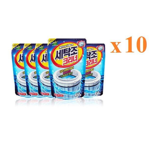 Bộ 10 gói Bột tẩy lồng máy giặt Hàn Quốc 450g cao cấp - 3224584 , 365661120 , 322_365661120 , 480000 , Bo-10-goi-Bot-tay-long-may-giat-Han-Quoc-450g-cao-cap-322_365661120 , shopee.vn , Bộ 10 gói Bột tẩy lồng máy giặt Hàn Quốc 450g cao cấp