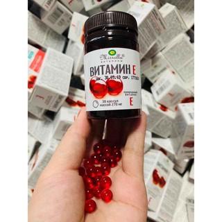 Vitamin e đỏ 270mg Mirrolla của Nga 30v