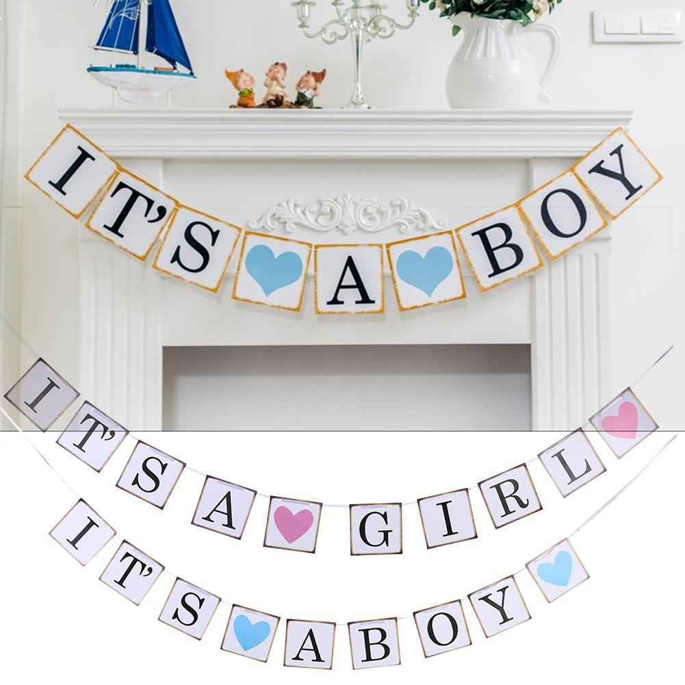 Day Treo Trang Tri Chữ It S A Boy Girl Salezone Store