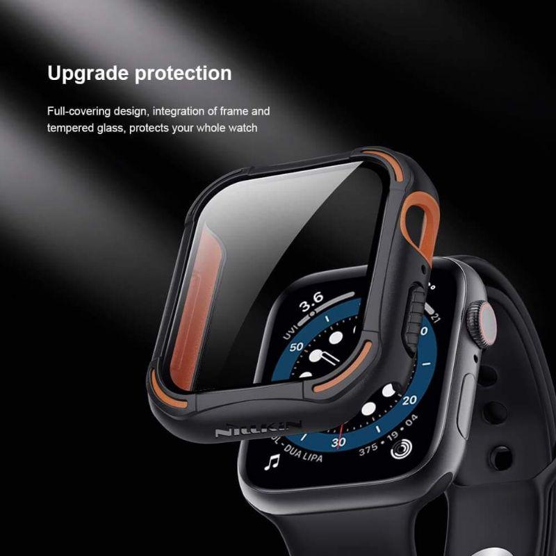Nillkin CrashBumper case cho Apple Watch 40mm, 44mm Series 4,5,6,SE . Ốp bảo vệ Apple Watch chính hãng cao cấp