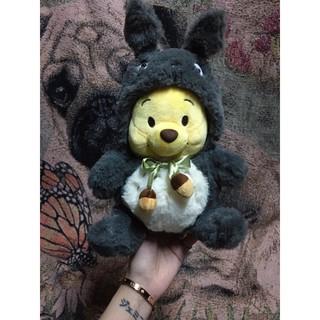 Gấu bông Pooh cosplay Totoro ( lông siêu đẹp ) - Chubby Pooh Bear Cosplay Totoro thumbnail