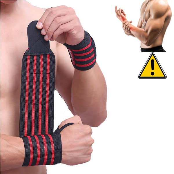 Băng Quấn Cổ Tay Aolikes Wrist Dùng Cho Thể Thao GYM, Yoga, Boxing, Tenis, Bóng Chuyền, Cầu Lông (1 Đôi)