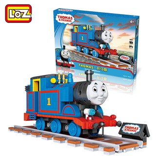Đồ chơi lắp ráp tàu hỏa Thomas Loz Mini