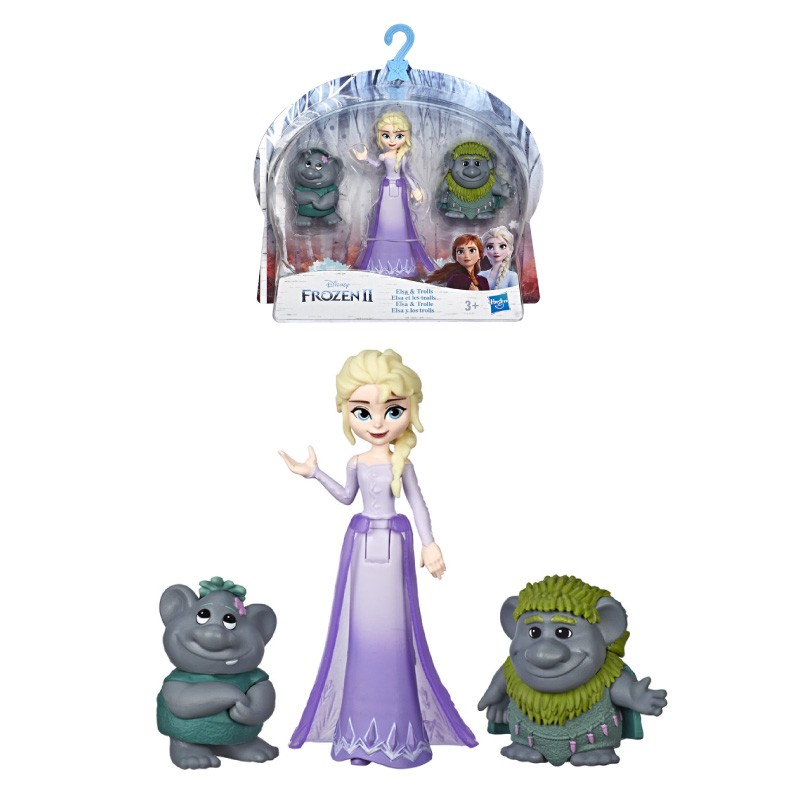 Đồ chơi Hasbro Disney Frozen 2 nhân vật và những người bạn E5509 - Giao mẫu ngẫu n