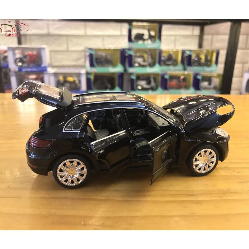 Mô hình xe ô tô Porsche Macur Turbo tỉ lệ 1:32 màu đen