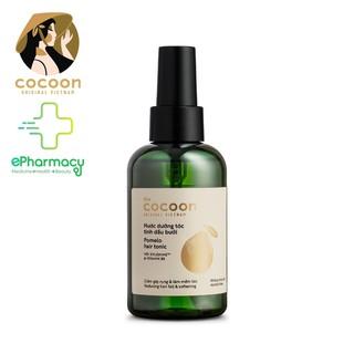 Nước Dưỡng Tóc Tinh Dầu Bưởi COCOON giảm rụng tóc, kích thích mọc tóc (Phiên Bản 2020) - Pomelo Hair Tonic 140mL thumbnail