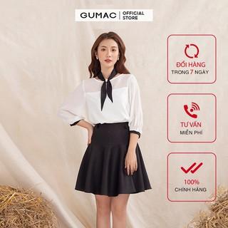 Chân Váy nữ rã xòe 2 nút GUMAC đủ màu, đủ size thiết kế basic, công sở thanh lịch VA10118 thumbnail