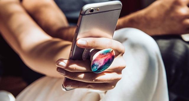 Pop điện thoại, giá đỡ điện thoại kute