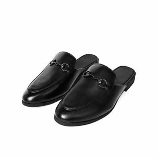 Giày sục da thật TEFOSS HT01 đen/nâu size 37-43 trẻ trung và sành điệu