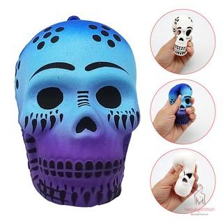 Halloween Skull Slow Rising Toy Soft Slow Rising Rebound Props Anti-stress Toys