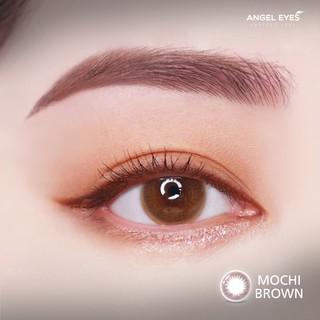 Kính áp tròng Angel Eyes - MOCHI - Brown - DIA 14.2 - Độ cận 0-6