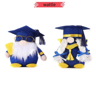 WATTLE Party Supplies Gnome Decorations Gifts Class of 2021 Plush Gnomes Home Decor Handmade Toy Table Ornaments Graduation
