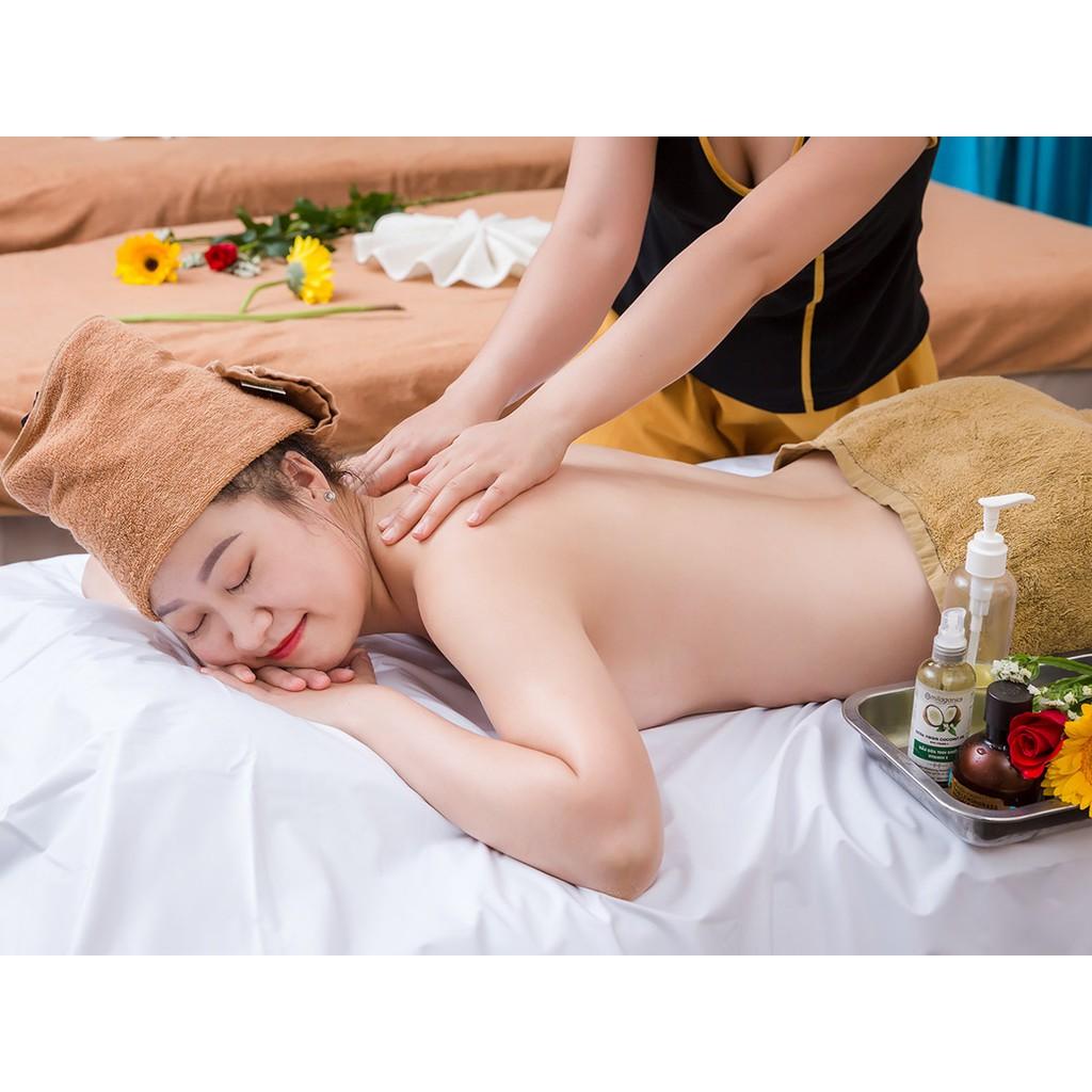 HCM [Voucher] - Liệu trình 100 phút Massage Body + Massage Foot + Ngâm Chân + Đắp mặt nạ tại Paradise Spa