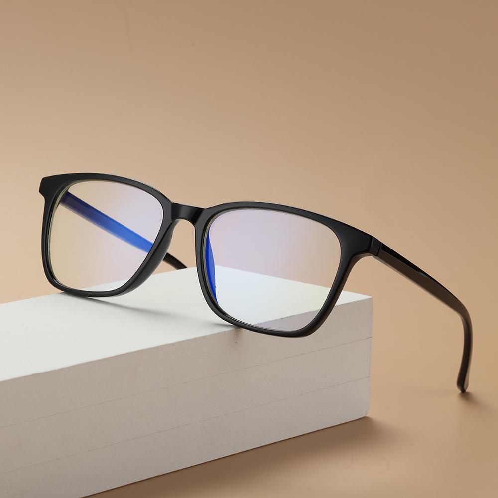 🎈FUTURE🎈 Vision Care Computer Glasses Lightweight Unisex Glasses Blue Light Blocking Cut UV400 with Spring Hinges Retro Frame Nerd Reading...