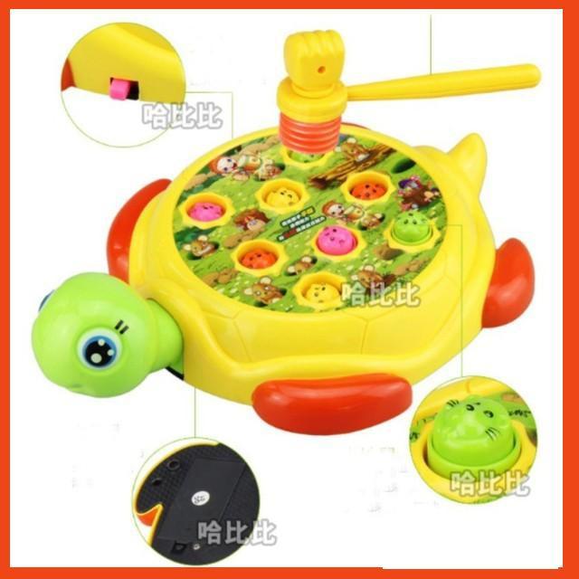 (GIÁ HỦY DIỆT) Bộ đồ chơi đập chuột hình chú rùa loại to