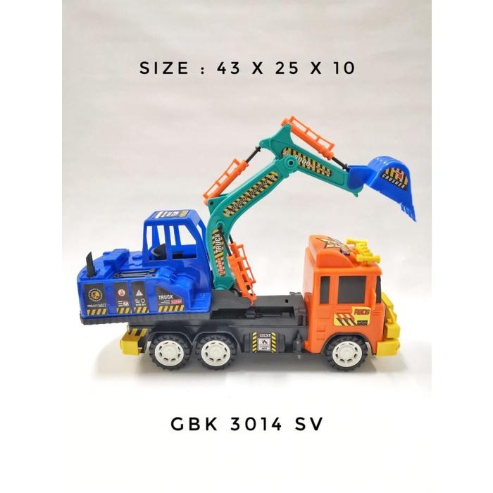 Mô hình xe tải đồ chơi GBK 3014 BR SV cho bé