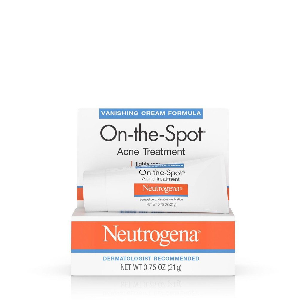Kem trị mụn Neutrogena On-The-Spot Acne Treatment Cream - 3502969 , 837679302 , 322_837679302 , 195000 , Kem-tri-mun-Neutrogena-On-The-Spot-Acne-Treatment-Cream-322_837679302 , shopee.vn , Kem trị mụn Neutrogena On-The-Spot Acne Treatment Cream