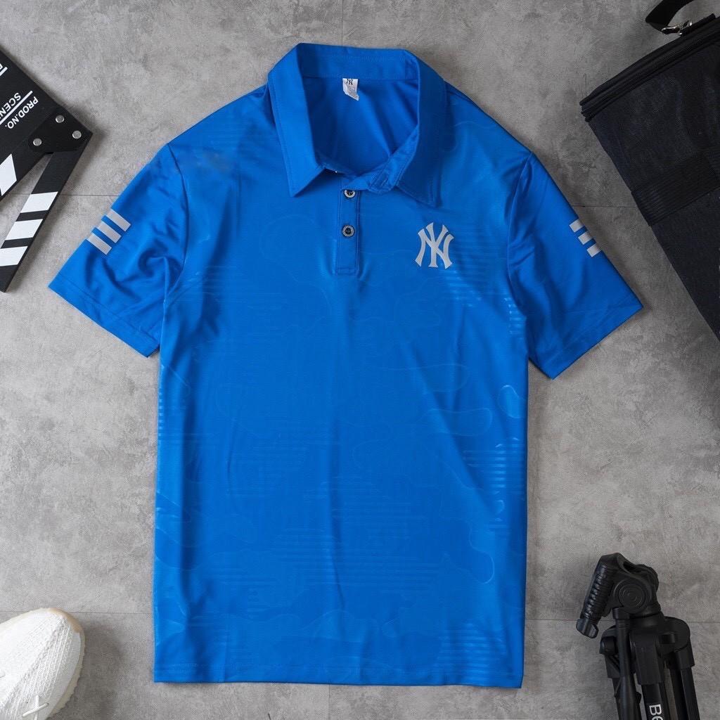 Áo thể thao nam cổ bẻ áo polo có cổ nam thun lạnh 6 màu 401