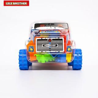 Bộ Lắp Ráp Xe Tải Kỹ Sư Xây Dựng Racing Car Lele Brother (8326-6)
