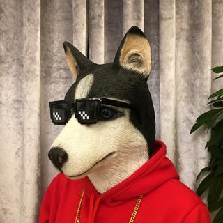 Mặt nạ đầu chó sói siêu ngầu, siêu lầy