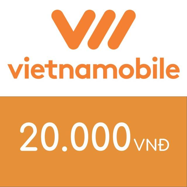 Mã thẻ điện thoại Vietnamobile 20K