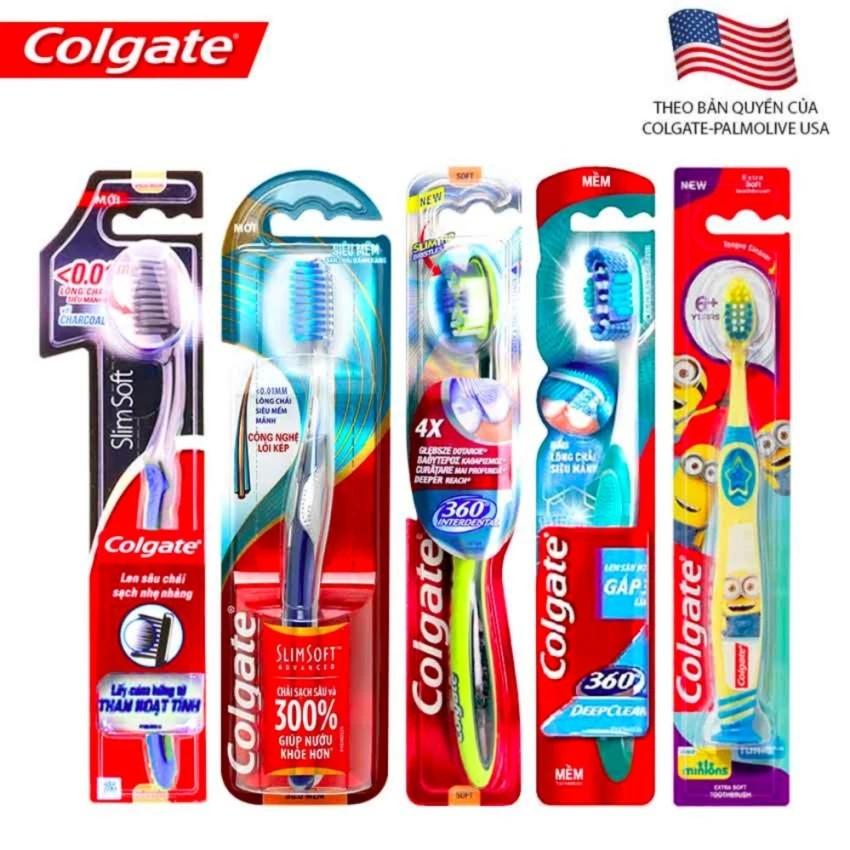 Bộ 4 bàn chải Colgate và 1 bàn chải Colgate Kids Minion (màu sắc ngẫu nhiên) - 4BANCHAI+1MINION - 3192276 , 446994426 , 322_446994426 , 172000 , Bo-4-ban-chai-Colgate-va-1-ban-chai-Colgate-Kids-Minion-mau-sac-ngau-nhien-4BANCHAI1MINION-322_446994426 , shopee.vn , Bộ 4 bàn chải Colgate và 1 bàn chải Colgate Kids Minion (màu sắc ngẫu nhiên) - 4BANC
