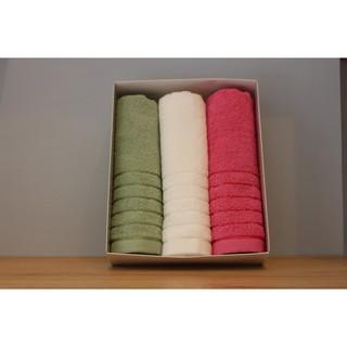 COMBO 3 khăn mặt Line Border (Songwol Vina)