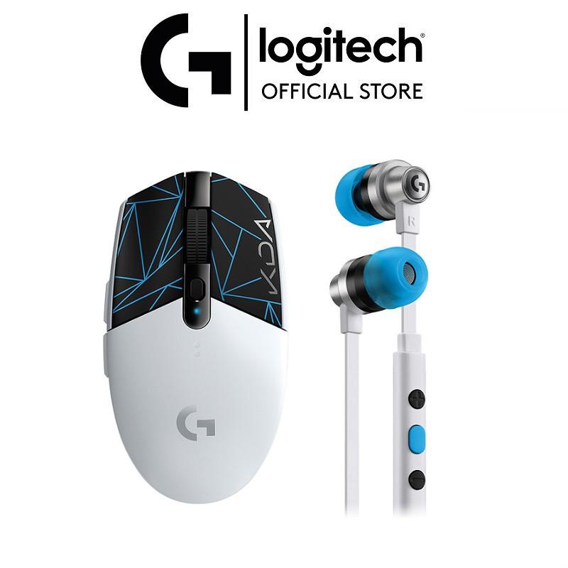 [BST KDA LOL x LOGITECH] Combo Chuột game không dây Logitech G304 KDA và Tai nghe Logitech G333 K/DA