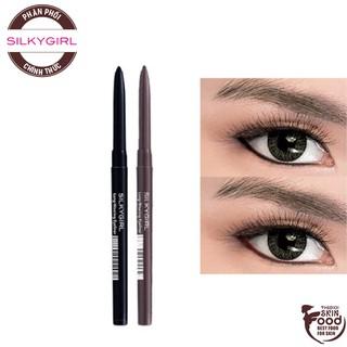 Chì Kẻ Mắt Siêu Mảnh, Sắc Nét Lâu Trôi Silkygirl Long-Wearing Eyeliner 0.28g thumbnail
