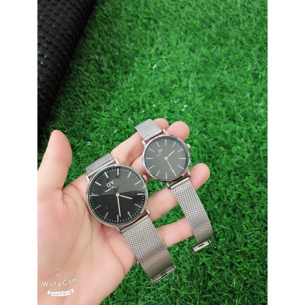 Đồng hồ cặp đôi DMW dây lưới thép trẻ trung sang trọng thiết kế nhỏ gọn đường nết tinh sảo thương hiệu đẳng cấp MTP