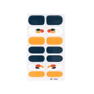 Sticker loại nhám màu trắng caramel tím chống thấm để trang trí móng thumbnail