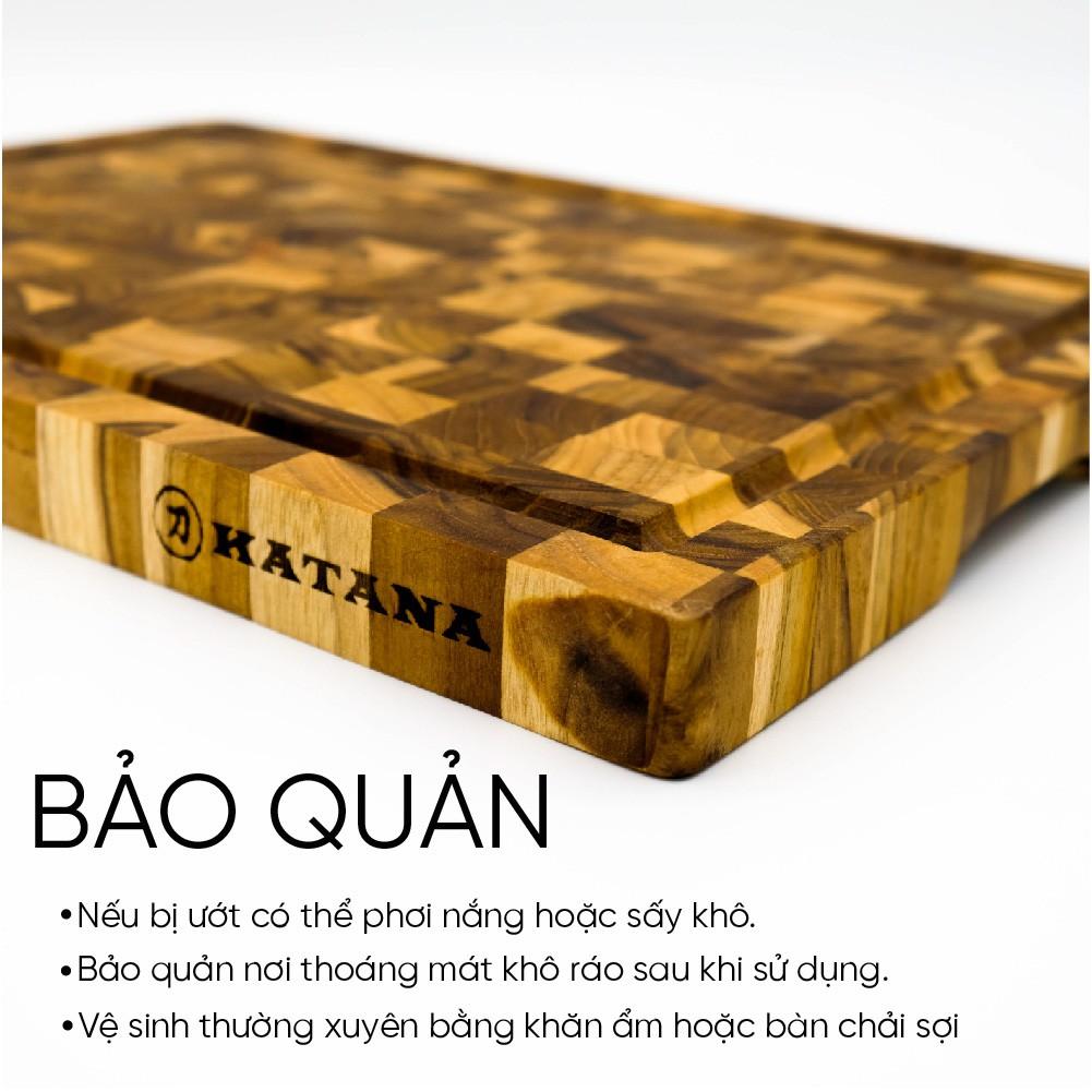 Thớt gỗ teak cao cấp KATANA KT01 chữ nhật kích thước 25x250x350mm | Shopee  Việt Nam