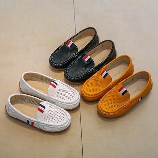 Giày Da Thoáng Khí Thời Trang Cho Bé Trai