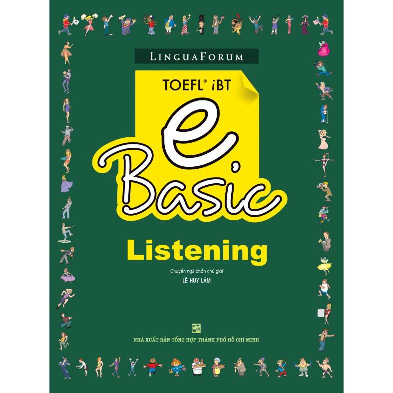 LinguaForum TOEFL iBT e Basic - Listening - 3387908 , 976149191 , 322_976149191 , 58000 , LinguaForum-TOEFL-iBT-e-Basic-Listening-322_976149191 , shopee.vn , LinguaForum TOEFL iBT e Basic - Listening