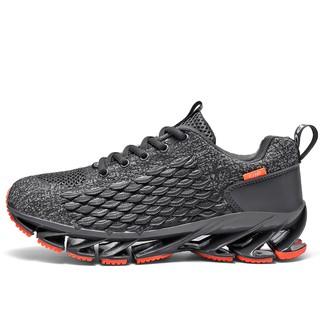 Giày thể thao màu đen kiểu dáng năng động thời trang dành cho nam giới