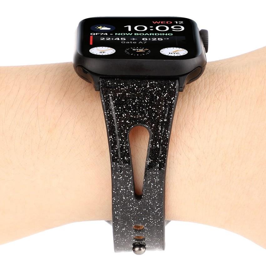 Apple Watch Series 4 3 2 1 Band Flash thoáng khí đeo tay 44 38 42 Dây đeo 40 mm