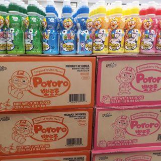 Nước uống giải khát Pororo Hàn Quốc cho trẻ em và ng lớn