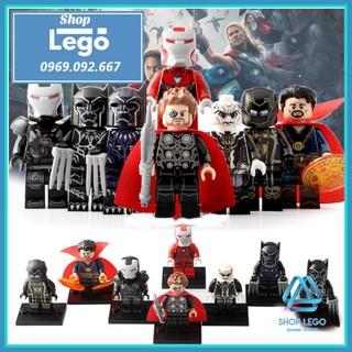 Xếp hình Lego Tuyển tập siêu anh hùng Infinity War Lego Minifigures POGO PG8136 thumbnail