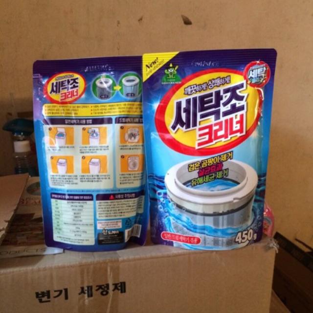 Combo 5 túi tẩy lồng giặt Hàn Quốc