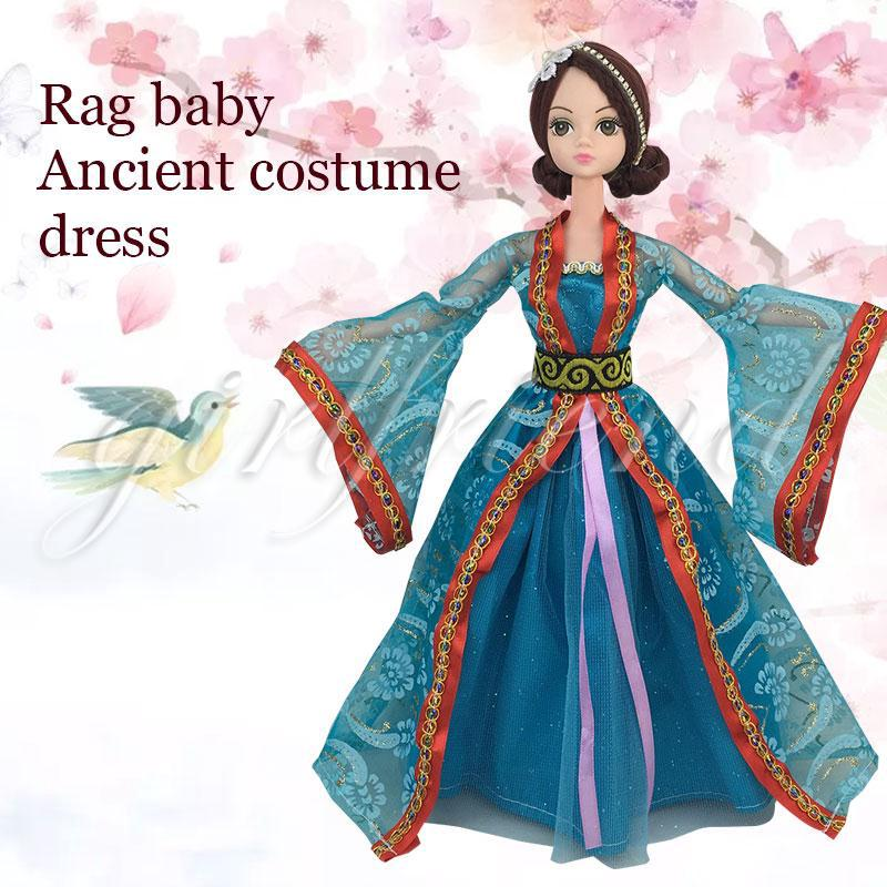 Handmake Doll Dress Traditional Ancient Costume Costume Chinese Style