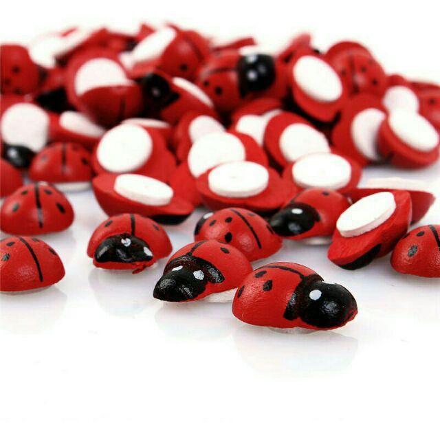 Phụ kiện Tiểu Cảnh - SET 10 Bọ Rùa Đỏ