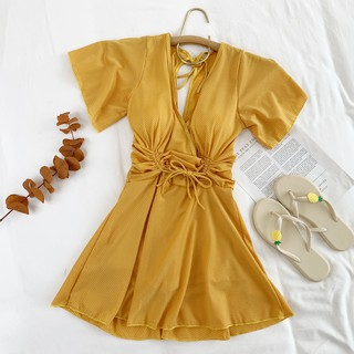 Swimsuit for women 2021 new trendy one-piece conservatively thin oversize cover Belly ins style fairy style women's swim