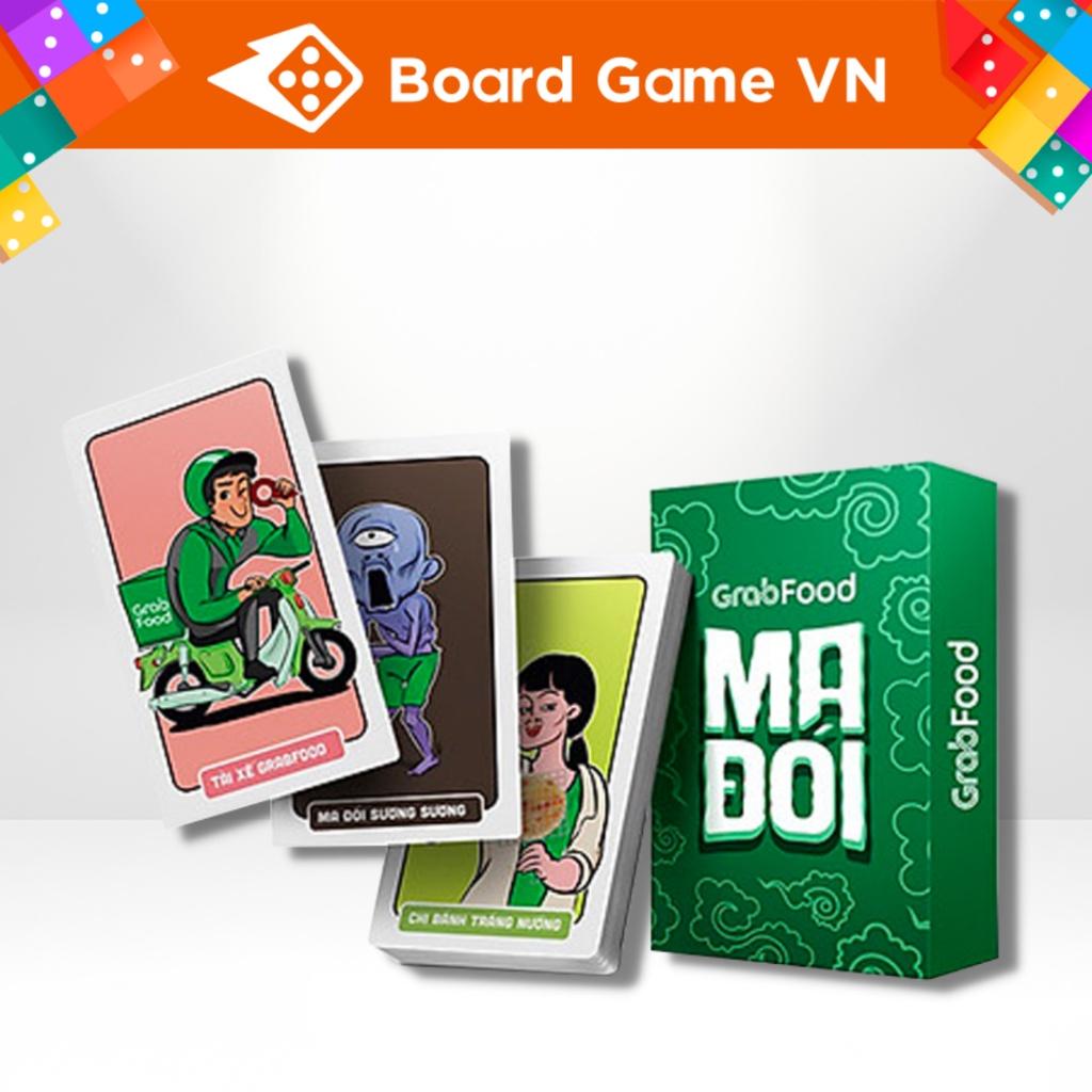 Thẻ bài trò chơi Ma Đói Grabfood - BoardgameVN