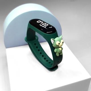 Đồng hồ đeo tay LED thông minh chống thấm nước 50m thiết kế hoạt hình cho trẻ em