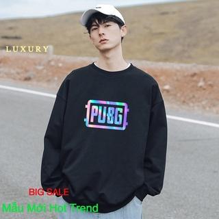 [ Hoàn Tiền 100% Nếu Sai Mẫu Hoặc Chất Kém ] Áo Sweater nỉ phản quang unisex dài tay PUBG AS15