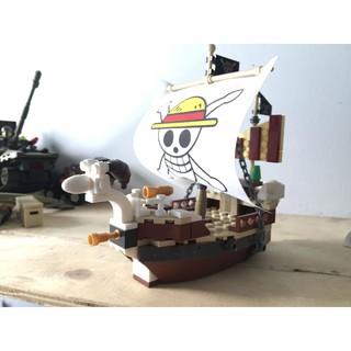 Lego ComBo 3 chiếc tàu One Piece hàng cũ ( Không Mini)