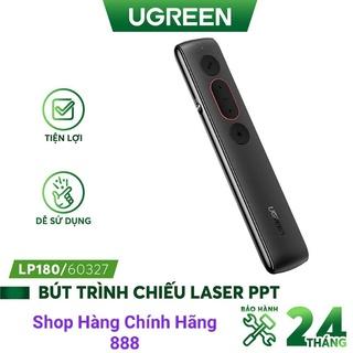 Bút trình chiếu PowerPoint Laser Ugreen 60327 LP180 không dây điều khiển từ xa 100m (sử dụng pin AAA) - Hàng Chính Hãng thumbnail